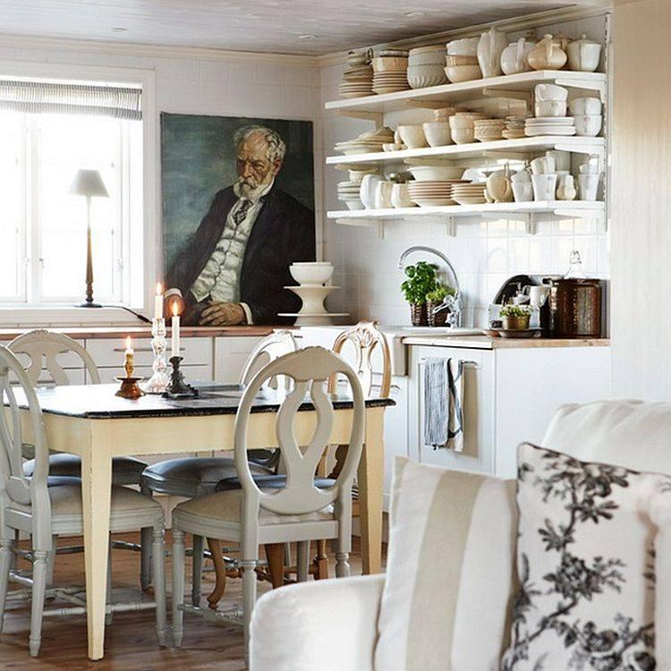 muebles cocina estilo vintage retro