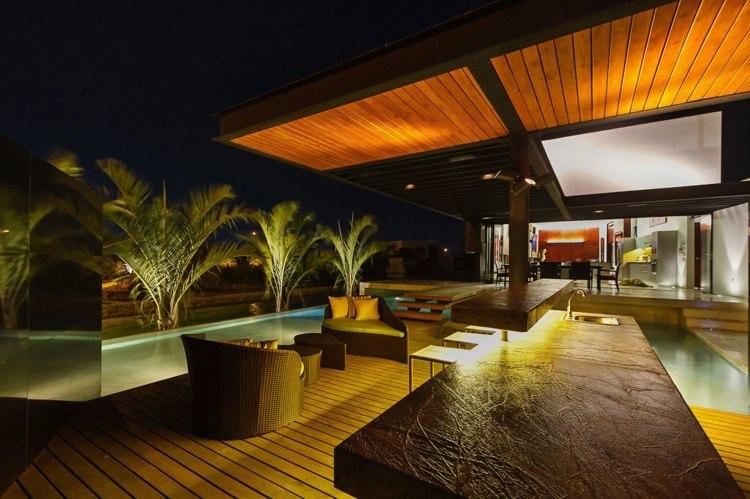 muebles combinacion terrazas colores salas metales rocas