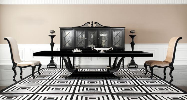 Muebles modernos comedor for Muebles de oficina lujosos