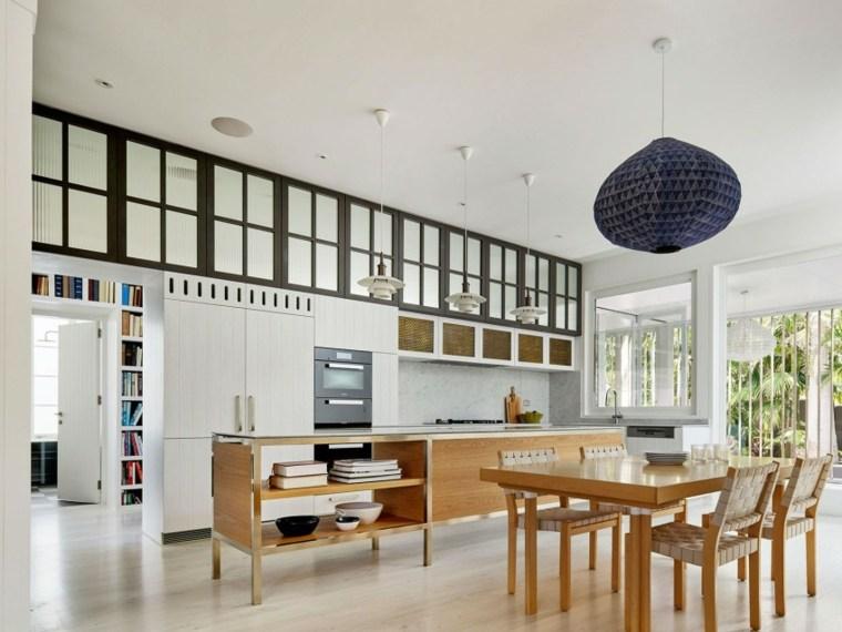 muebles de diseño cocina comedor muebles madera ideas
