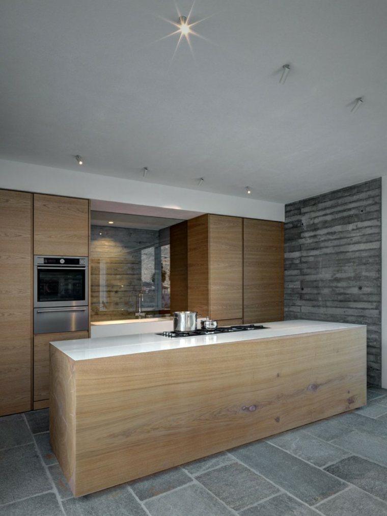 Muebles de dise o natural vitalidad en la casa moderna - Muebles en madera natural ...