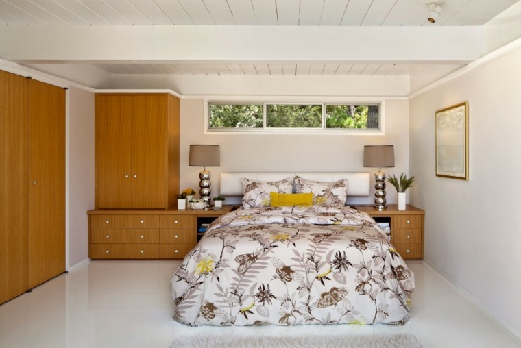 Muebles de dise o natural vitalidad en la casa moderna - Disenos de dormitorios pequenos ...