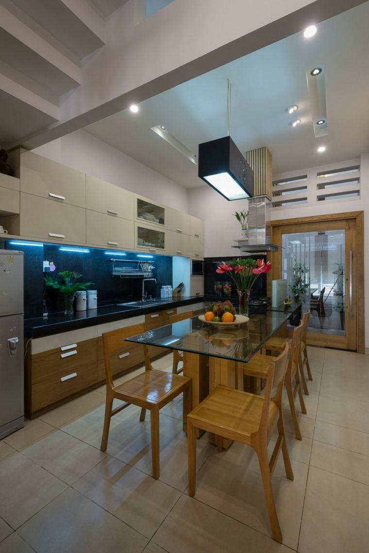 Muebles de dise o natural vitalidad en la casa moderna for Comedor diseno