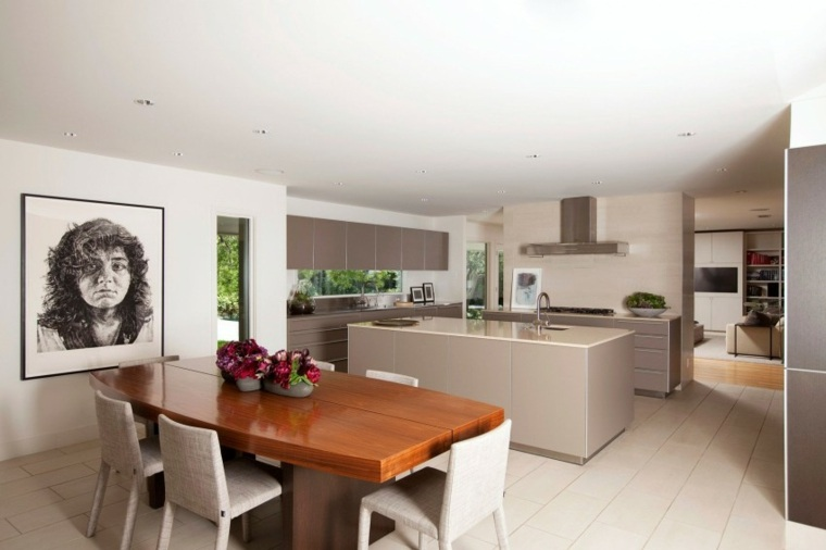 Muebles de dise o natural vitalidad en la casa moderna for Muebles comedor diseno