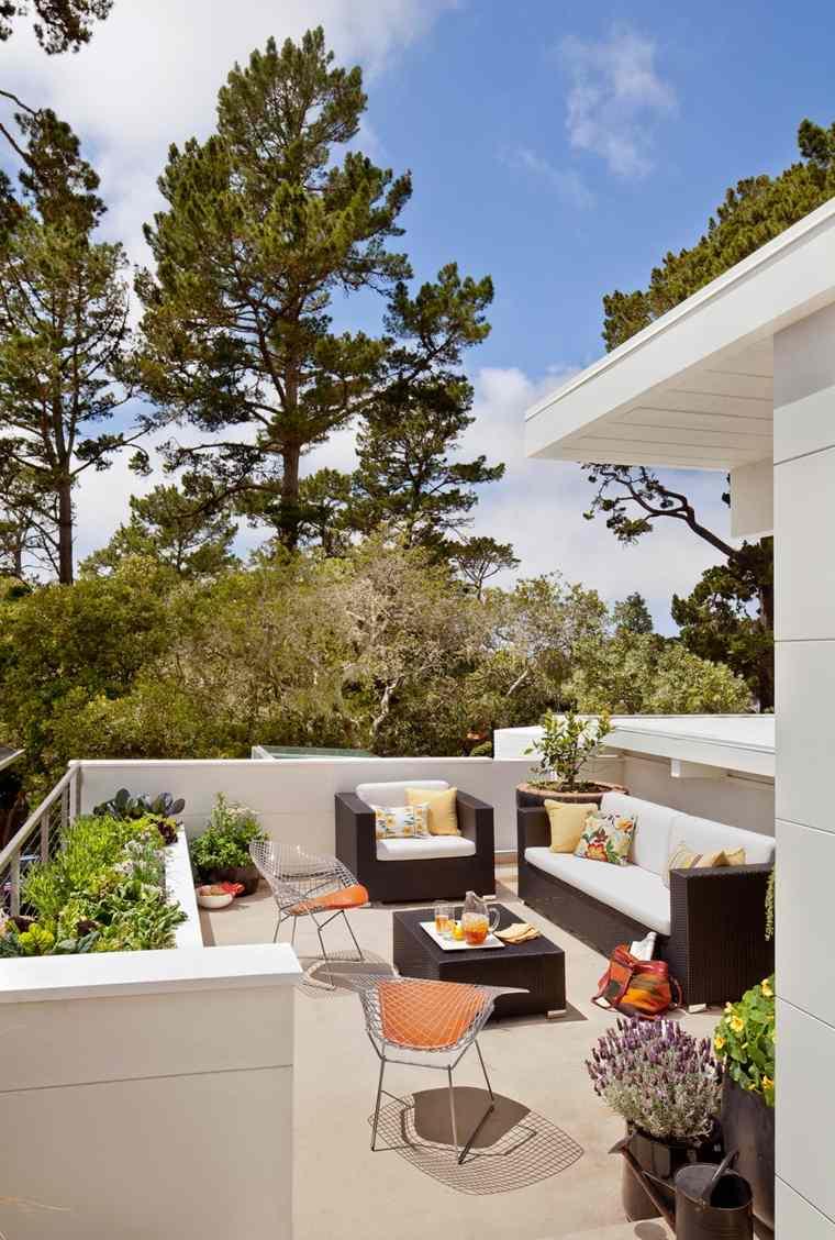muebles el paraiso balcon moderno espacioso ideas