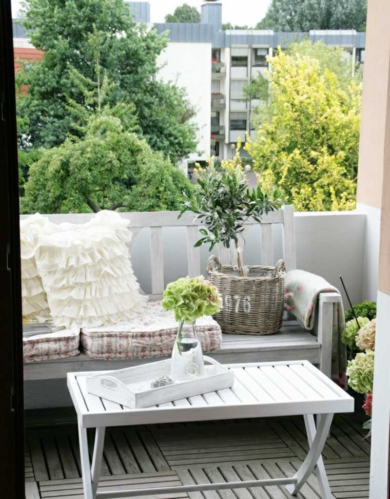 Muebles el paraiso moderno en la terraza o el balc n for Muebles jardin pequenos
