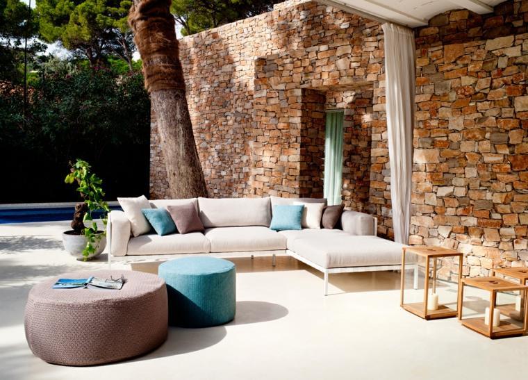 muebles el paraiso terraza moderna candeleabros grandes ideas
