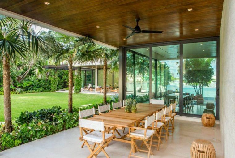 muebles el paraiso terraza moderna mesa lugar comidas ideas