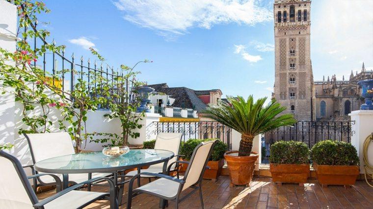 muebles el paraiso terraza moderna opciones plantas ideas