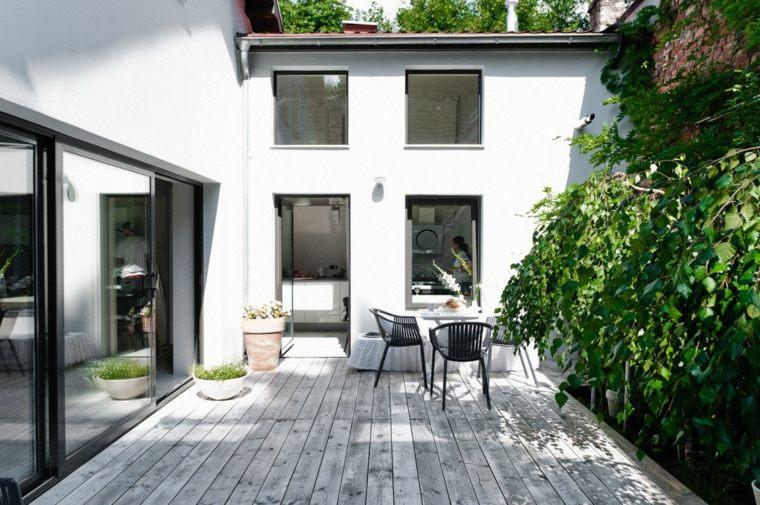 muebles el paraiso terraza moderna pequena ideas