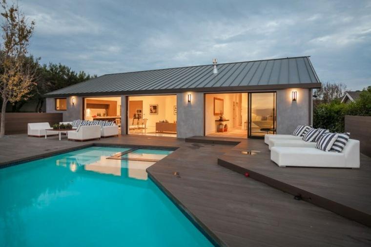 muebles el paraiso terraza moderna residencia diseno ideas