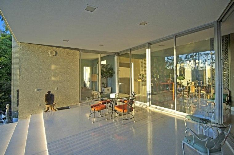 muebles el paraiso terraza moderna sillas acero ideas