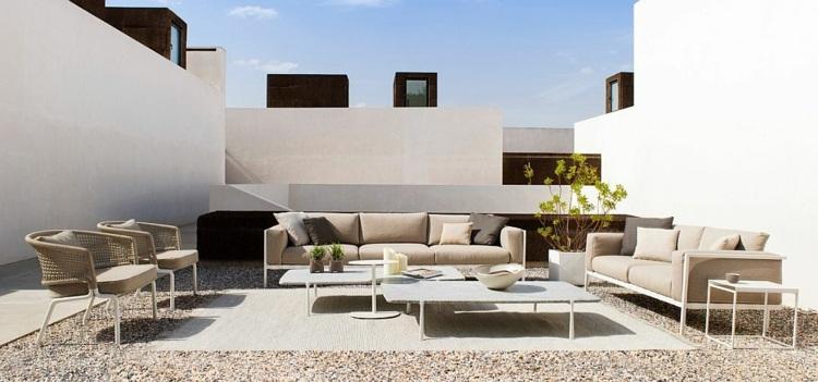Nueva vida para el jardín muebles diseñados por Tribu -
