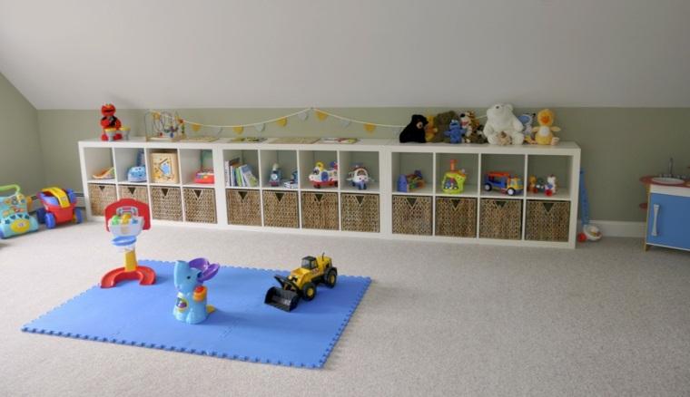 muebles infantiles modernos estantes funcionales
