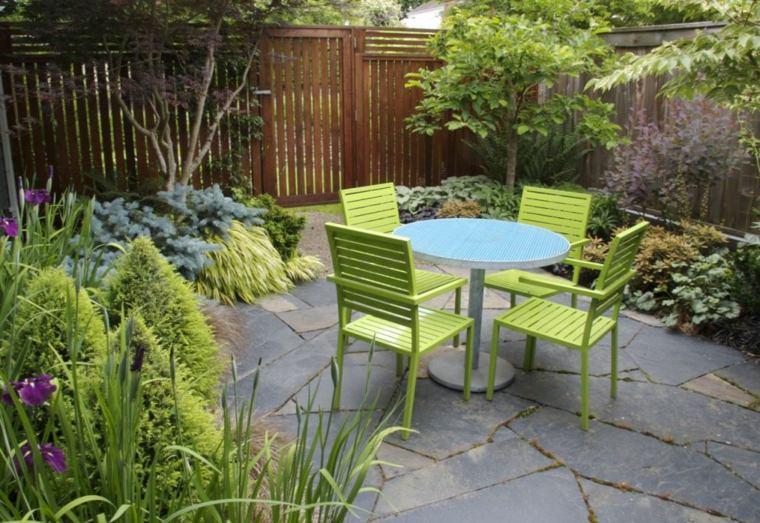 muebles jardín estilo moderno deco
