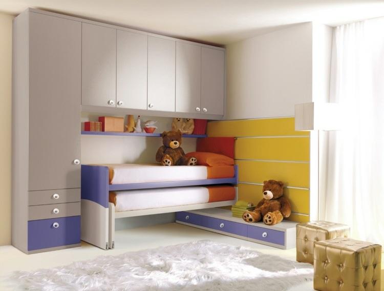 Camas infantiles de dise o moderno comodidad y diversi n for Muebles infantiles diseno