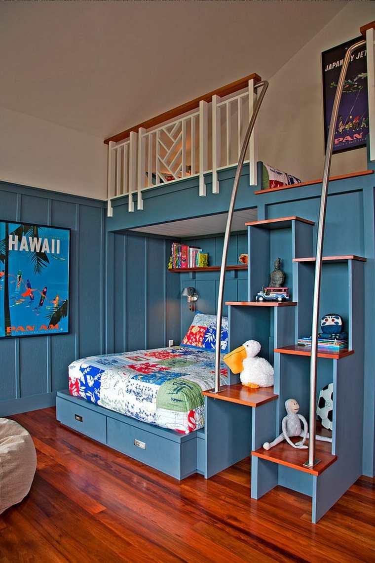 Estanter As Para Habitaciones Infantiles 50 Ideas Geniales  # Muebles Funcionales Para Ninos