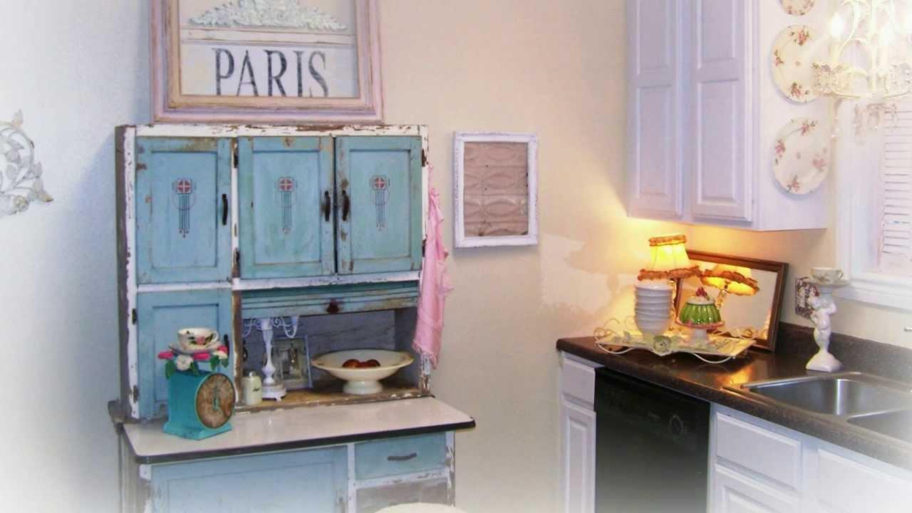 muebles estilo retro cocina shabby