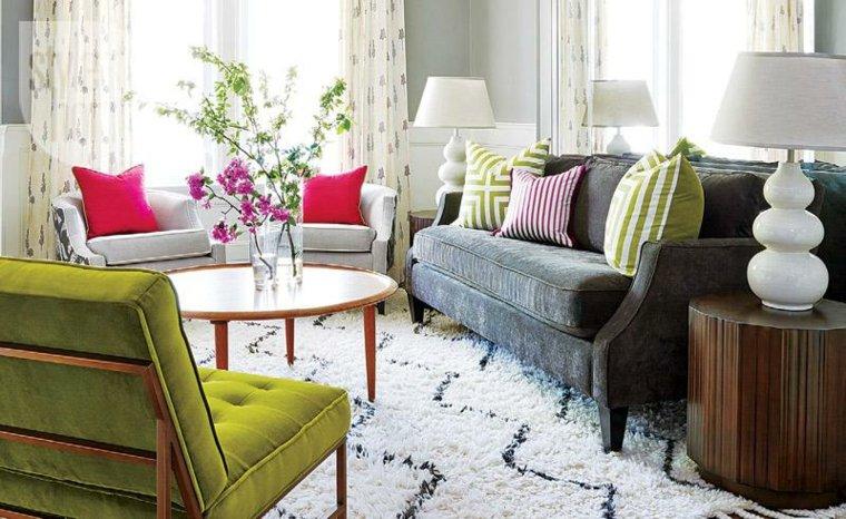 Ideas para decorar la sala de estar en primavera for La maison muebles