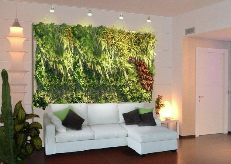 Jardines verticales ideas interesantes para el interior for Muros de jardin