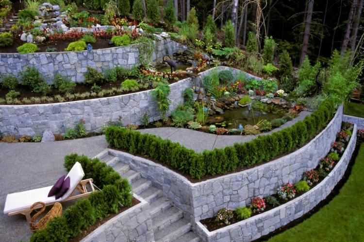muros de contencion terrazas
