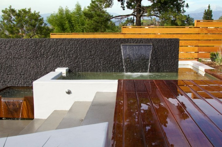 muros paredes cascadas agua salones cascada