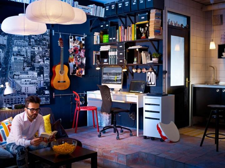 naturales estantes muebles casas lamparas