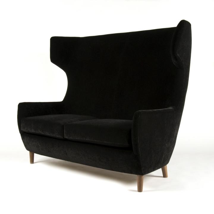 negro cabezas estantes muebles negro