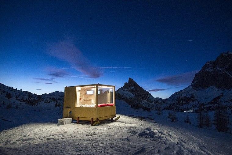 noches montana cabina madera pequena ideas