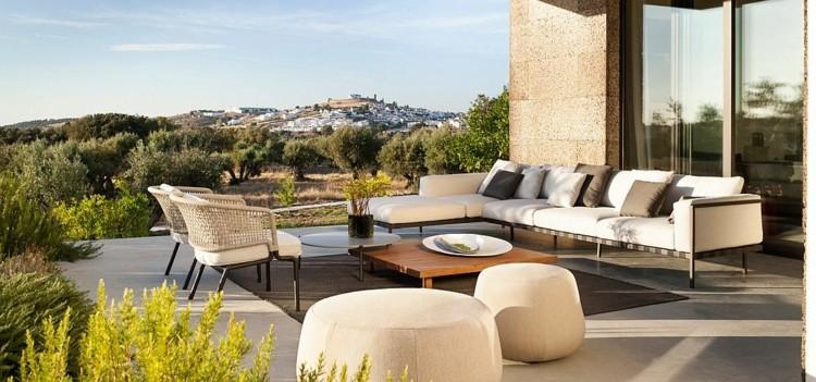 nueva vida espacios relax aire libre opciones sillas sofa ideas