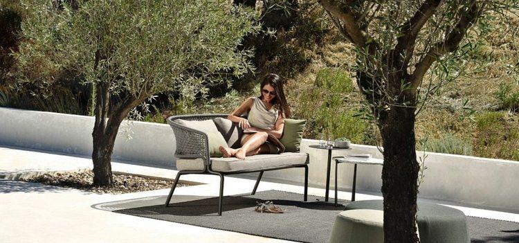 nueva vida exterior opciones sofa gris ideas
