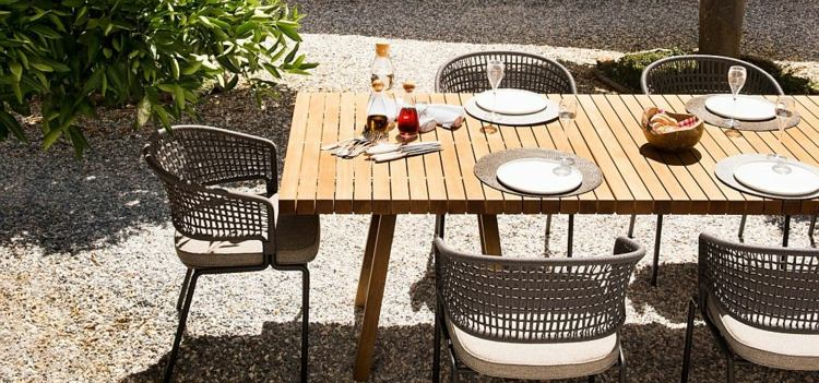 nueva vida exterior sillas contornos modernos ideas