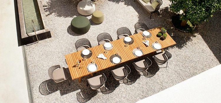 nuevo lugar comidas mesa madera Tribu ideas