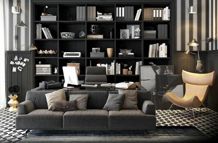 oficinas estilos decorativos diseño contenidos sistemas