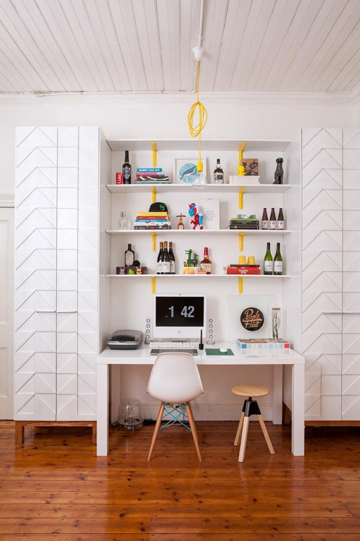 oficinas estilos decorativos diseño color