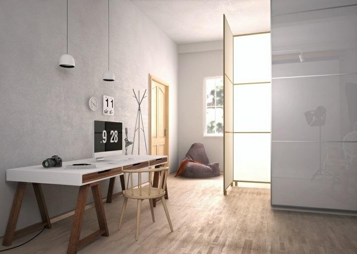 oficinas estilos decorativos naturales colores