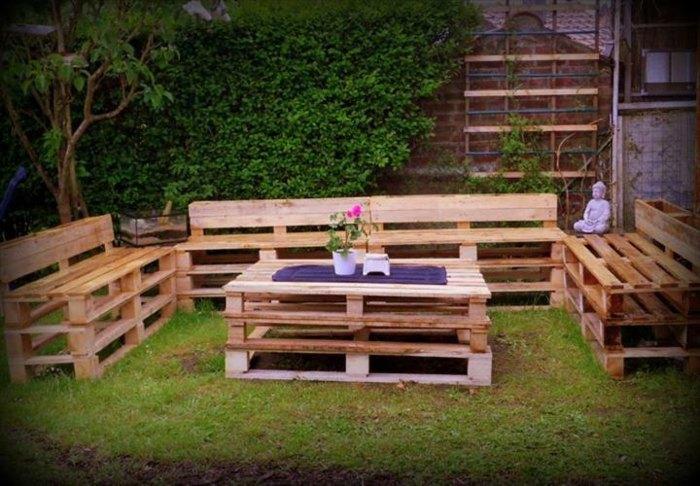 opciones creativas palets reciclar sofas mesa ideas