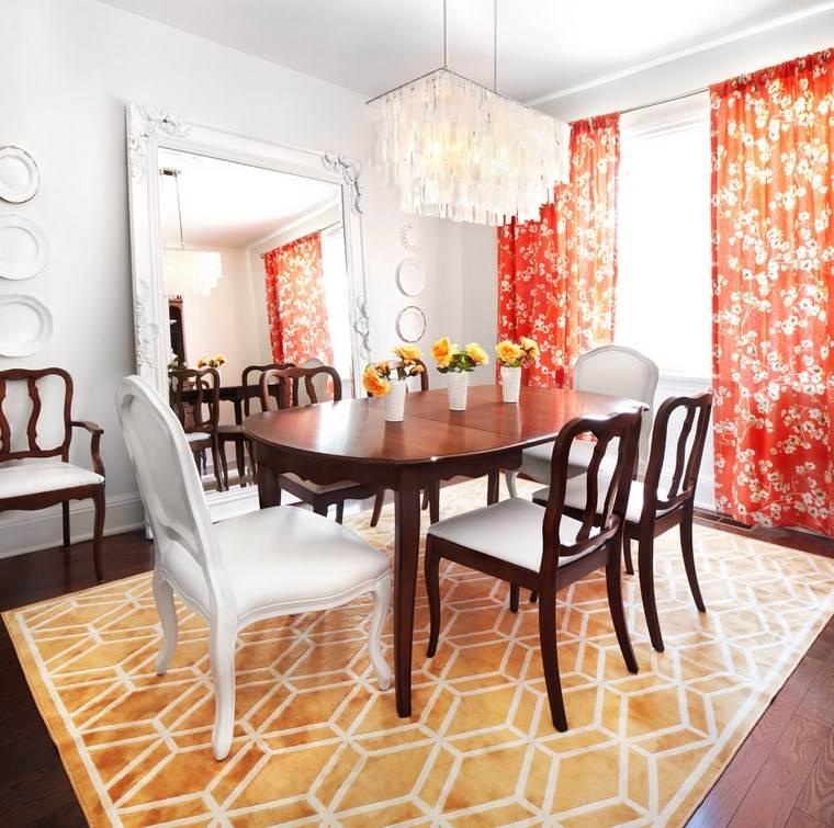 opciones diseno colorido comedor mesa anticuada ideas