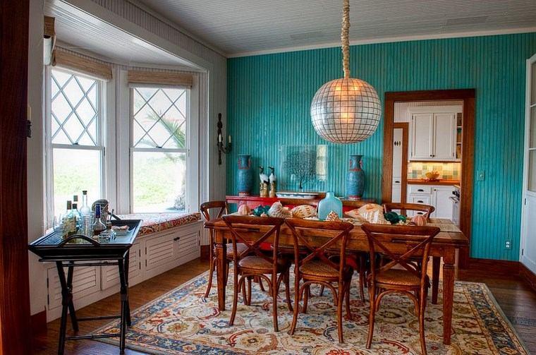 opciones diseno colorido comedor muebles madera ideas