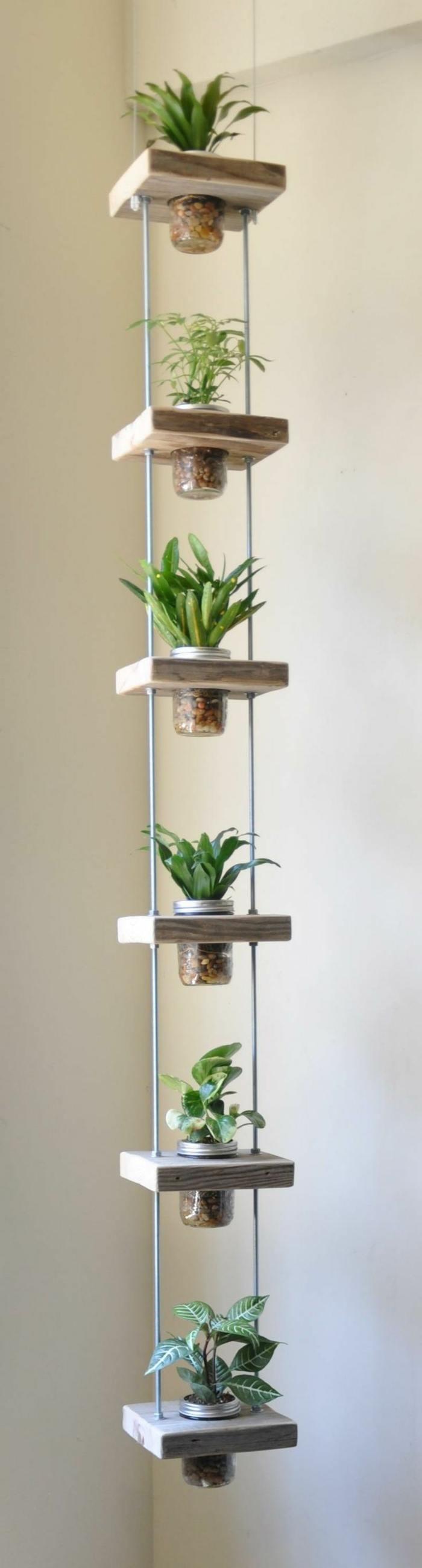 opciones hierbas jardin vertical colgando techo ideas