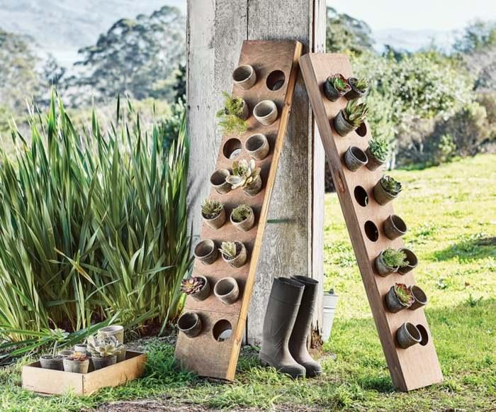 Veintidos ideas de jardines verticales y macetas colgantes for Jardin vertical colgante