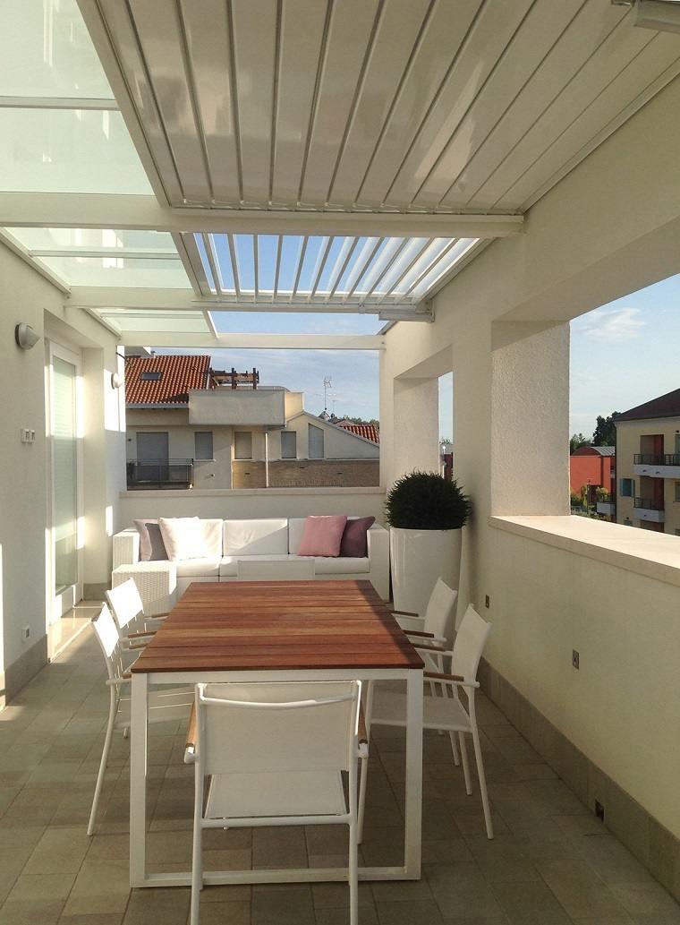 opciones pergola balcon pequeno ideas