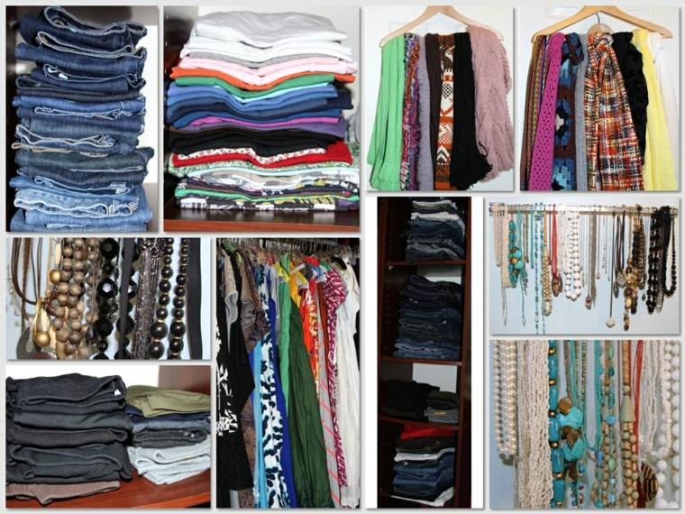 organizar armarios ropa colores - Como Organizar Un Armario