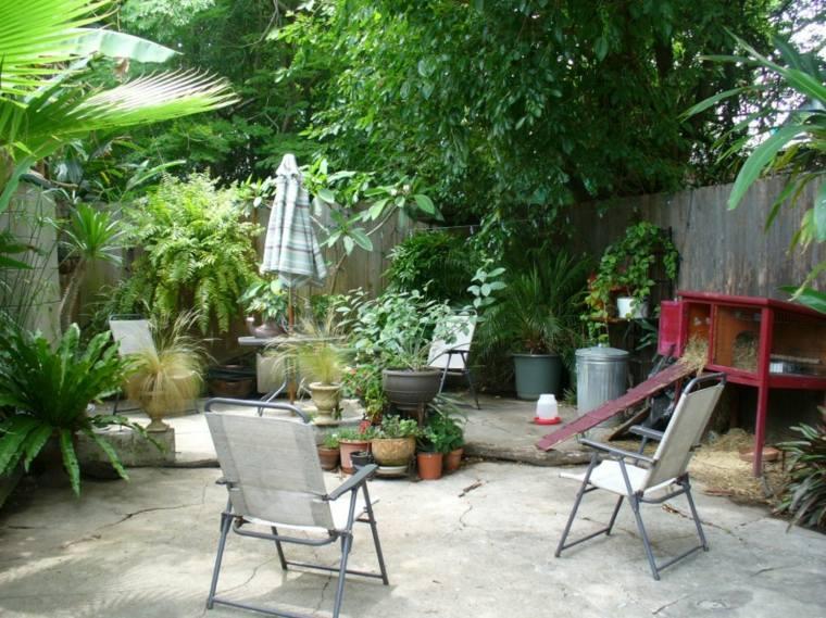 Dise 241 O De Patios Y Jardines Peque 241 Os 75 Ideas Interesantes