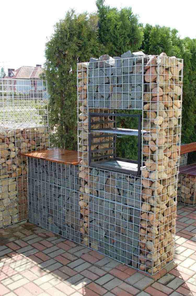 original kitchen garden gabion