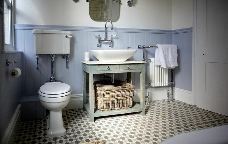 original cuarto baño diseño retro