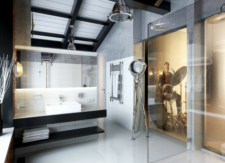 original diseño baño estilo industrial
