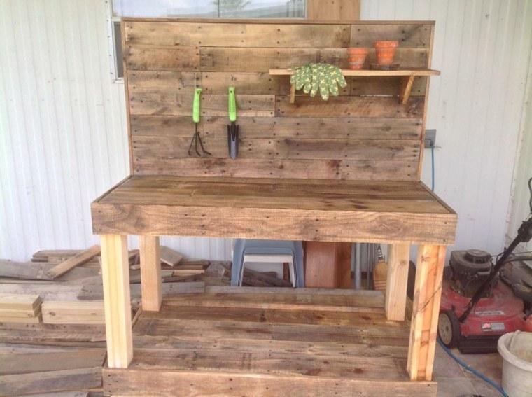 original banco mesa jardinera