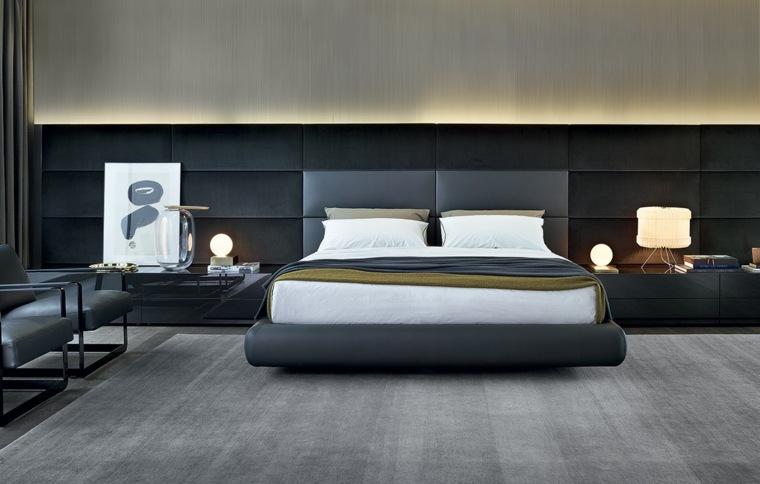 original cama acolchada firma Poliform