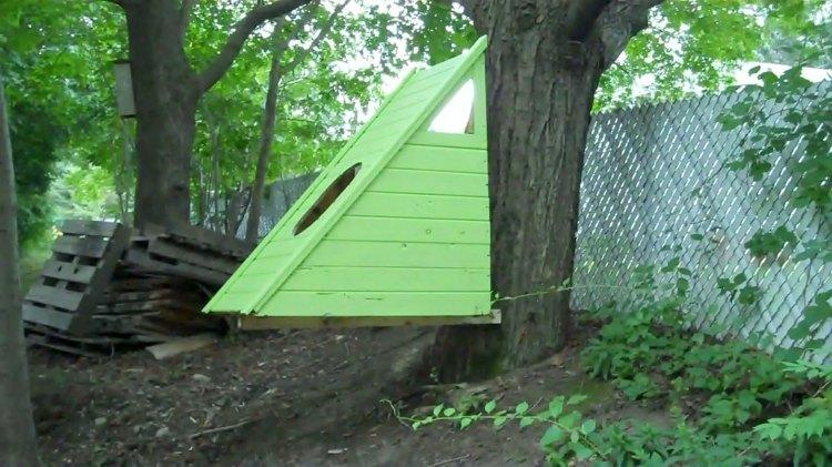 original casa en un arbol